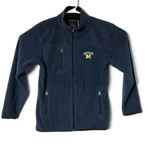 Michigan Wolverines College Full Zip Sweater